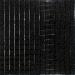 Pastilha Vidro Preto 32,7x32,7cm - Colormix