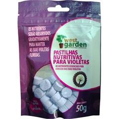 Patilhas Nutritivas para Violetas 50g - West Garden