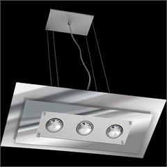 Pendente de Vidro para 3 Lâmpadas Spacial Espelhado - Pantoja & Carmona