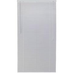 Persiana Horizontal em Pvc Block 150x140cm Branca - Top Flex