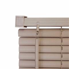 Persiana Horizontal Pvc 25 Mm 100 X160 Cm Block Bege - Top Flex