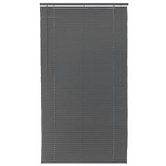 Persiana Horizontal Pvc 25 Mm 100 X220 Cm Block Cinza - Top Flex
