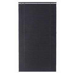 Persiana Horizontal Pvc 25 Mm 170 X140 Cm Block Preta - Top Flex