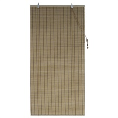 Persiana Rolo Bambu 100 X 220 Cm Caramelo - Top Flex