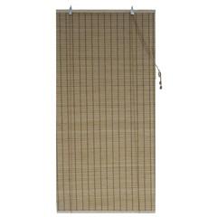 Persiana Rolo Bambu Caramelo 140x160cm - Top Flex