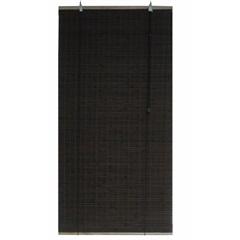 Persiana Rolo Bambu Marrom 80x160cm - Top Flex