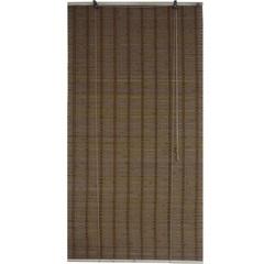 Persiana Rolo em Bambu Taila 140x160cm Marrom - Top Flex