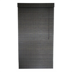 Persiana Romana em Bambu 120x160 Cm Marrom - Top Flex