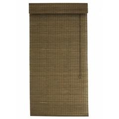Persiana Romana em Bambu 80x220cm Marrom - Top Flex