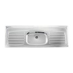 Pia de Inox Extra para Cozinha 180x59x15 Cm Ref.: 50034  - Franke