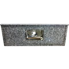 Pia Granito Luxo 1,20x0,55m Cinza - Bom Jesus