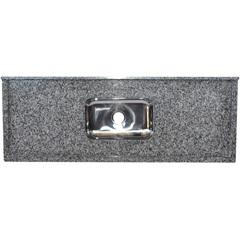 Pia Granito Luxo 1,50x0,55m Ocre - Bom Jesus