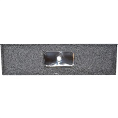 Pia Granito Luxo Cinza 200x55cm   - Bom Jesus