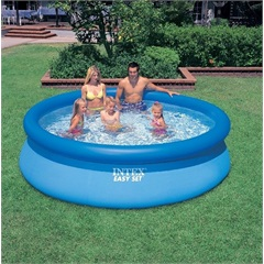Piscina Inflável - Easy Set - 9,14x3,05 M - 3853 Litros                   - Intex