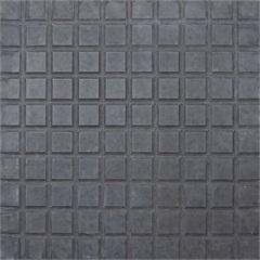 Piso 100 Quadros Preto 32x32cm Amarrado com 050m² - Cimartex