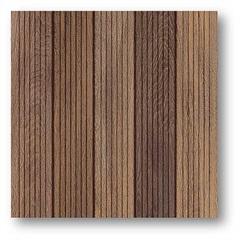 Piso Deck Imbuia Liso sem Brilho Marrom 51x51cm  - Unigres