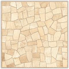 Piso Hd Mosaico Esmaltado Alto Brilho Bege 53x53cm - Idealle