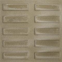 Piso Rampa Filete Cinza 20x20cm  Amarrado com 0.40m² - Cimartex