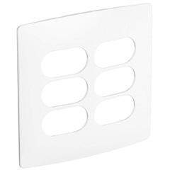Placa 3+3 Postos Separados 4x4 Nereya Sal Ref. 663430