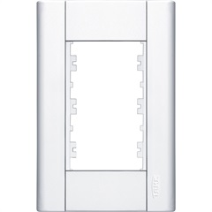 Placa 4x2 3 Módulos Modulare Ref.: 085  - Fame