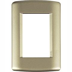 Placa 4x2 3 Postos Talari Dourada - Iriel