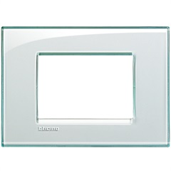 Placa 4x2 Living & Light Acquamarina - BTicino