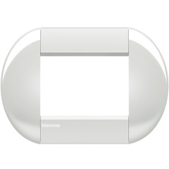 Placa 4x2 Living & Light Bianco - BTicino