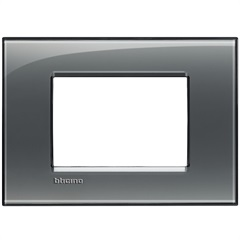 Placa 4x2 Living & Light Fumê - BTicino