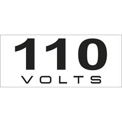 Placa de Sinalização em Alumínio 110 com 16 Peças - Bemfixa