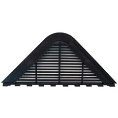 Placa de Ventilação para Telha Maxiplac E Etermax Preto 1 Peça - Fixtil