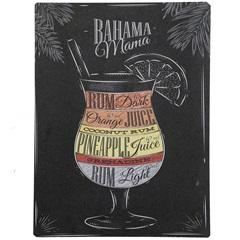 Placa Decorativa 30 X 40 Cm Blackboard Bahama Mama - Império