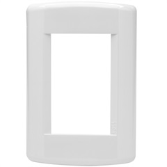Placa para 3 Módulos 4x2 Talari Branco 10901 - Iriel