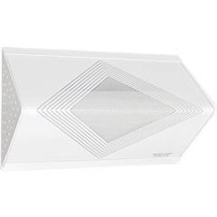 Plafon de Sobrepor com Acrílico Listrado Triangular   - Tualux