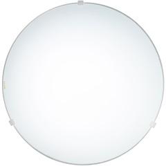 Plafon em Vidro Redondo para 2 Lâmpadas Clean 30cm Branco - Bronzearte