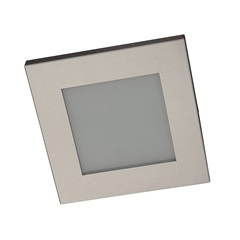 Plafon Embutido 1 Lampada Máximo Ref: Pte 1515  Alumínio Escovado - Pantoja