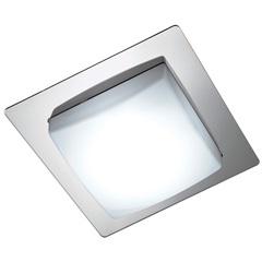 Plafon Infinity Led Espelhado 37x37cm 20w 127v  - Bronzearte