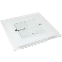 Plafon Módena Branco para 2 Lâmpadas 7050 - Auremar