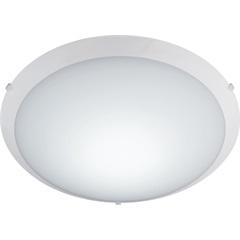 Plafon New Clean 035cm Led 20w 127v Ref.: Ncl735pbn1 - Bronzearte