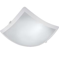 Plafon New Clean Led Quadrado 20w 127v 30x30cm Branco - Bronzearte