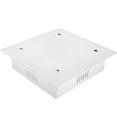 Plafon Quadrado Branco Zimbros 2 Lâmpadas - Taschibra