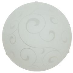 Plafon Redondo Branco 40cm - Taschibra