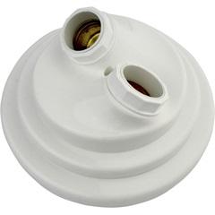 Plafonier Decorativo Duplo para 2 Lâmpadas Branco