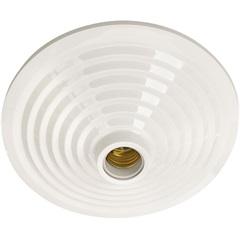 Plafonier Decorativo Mc para 1 Lâmpada Branco - Pavilonis