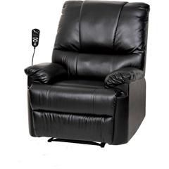Poltrona do Papai Massageadora Preta Bivolt  - Relaxmedic