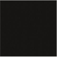 Porcelanato Esmaltado Borda Reta Brilhante Fusion Black 50x50cm