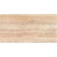 Porcelanato Retificado Acetinado Travertino Hd Noce 43,7x87,7cm - Portinari