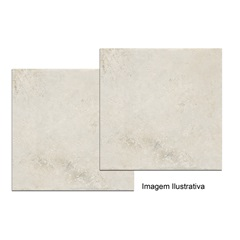 Porcelanato Travertino Branco 60x60cm  - Buschinelli
