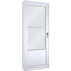 Porta Abrir com Grade Mosaico E Postigo Direita 1753.2 - Lucasa