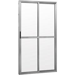 Porta Balcão 2 Folhas Brilhante 210x150cm - Ebel