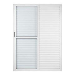 Porta-Balcão 3 Folhas 210x120 Branca  - Ebel